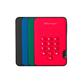 iStorage diskAshur2 USB 3.1 GREEN/RED/BLUE