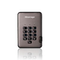 iStorage diskAshur PRO2 USB 3.1 Encrypted Portable Hard Drive