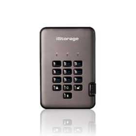 iStorage diskAshur PRO2 SSD USB 3.1 Encrypted Portable Hard Drive