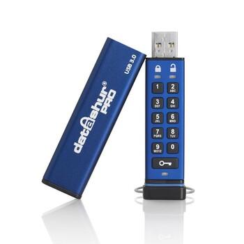 Защищенная флешка с аппаратным шифрованием datAshur Pro USB 3.0 16GB