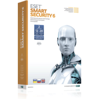 ESET Smart Security, коробка версия 6