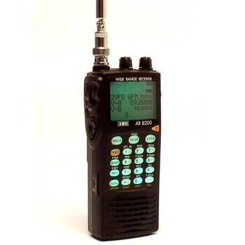 Широкосмуговий портативний скануючий приймач AR8200D