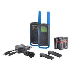Рация Motorola TALKABOUT T62 Blue Twin Pack & Chgr WE