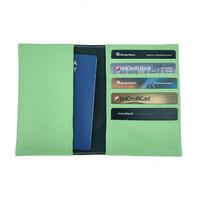 Обкладинка для паспорта та карт з RFID захистом салатова Locker Pas3 Green