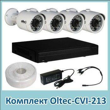 Комплект видеонаблюдения Oltec CVI-213