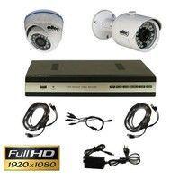 Комплект FullHD видеонаблюдения OLTEC AHD-DUO-302/920