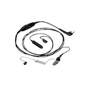 3 проводный гарнитура скрытого ношения с прозрачным звуководом KENWOOD KHS-9BL